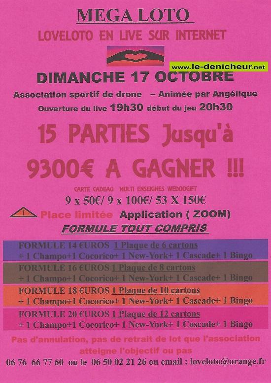 v17 - DIM 17 octobre - LOTO LIVE SUR INTERNET 0013237
