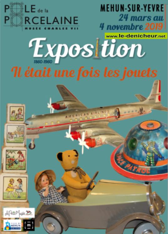 w04 - Jusqu'au 4 novembre - MEHUN /Yèvre - Il était une fois les jouets  (exposition)* 001580