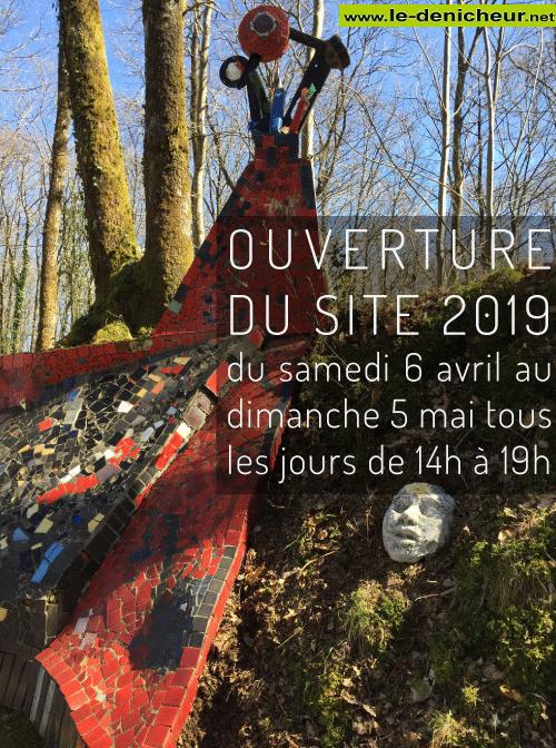 p05 - Jusqu'au 5 mai - NEUVY DEUX CLOCHERS - Ouverture de la Cathédrale Jean Linard 001611