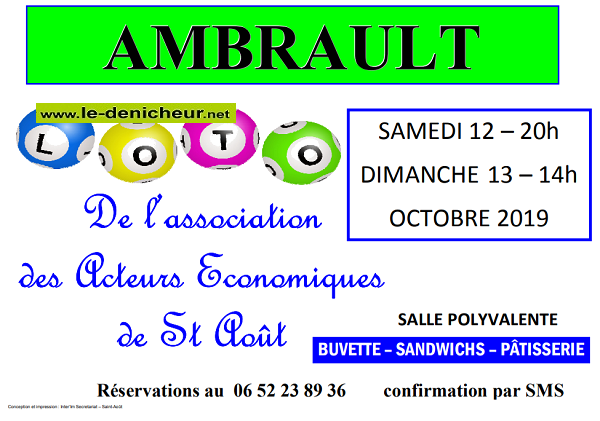 v12 - SAM 12 octobre - AMBRAULT - Loto AAESA */ 001616