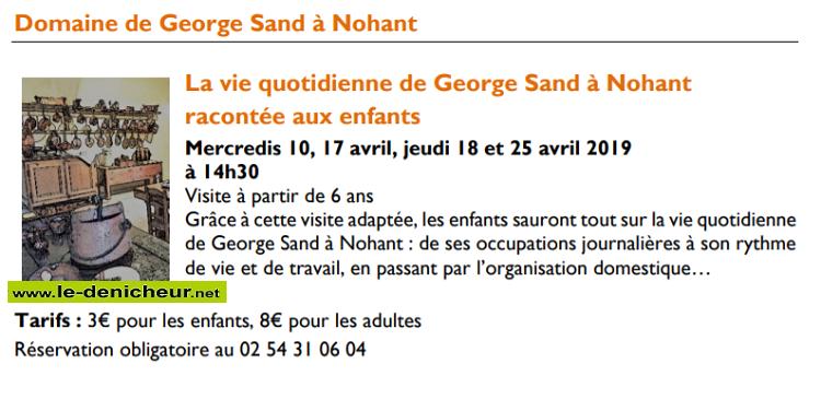 p25 - JEU 25 avril - NOHANT - La vie quotidienne de G. Sand racontée aux enfants 001620