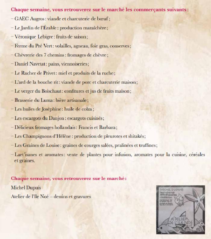 t23 - VEN 23 août - ST-CHRISTOPHE en Boucherie - Les Estivales (Marché du Terroir) 001891