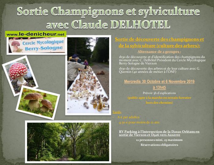 w06 - MER 06 novembre - VIERZON - Sortie champignons et sylviculture .*/ 001938