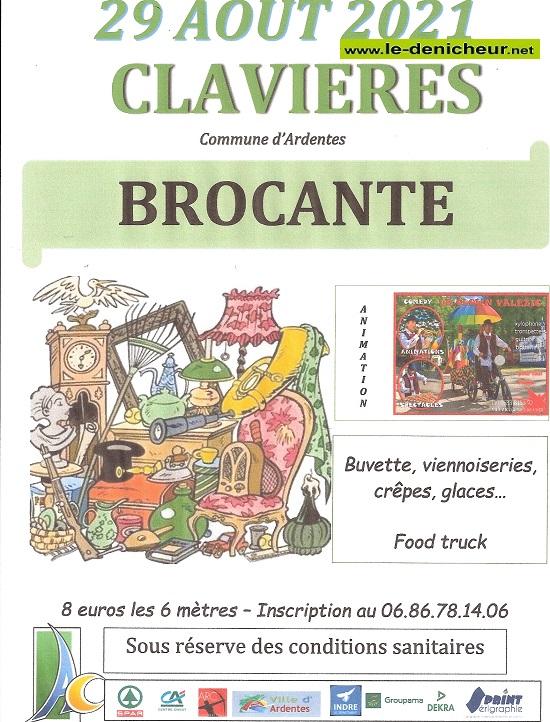 t29 - DIM 29 août - CLAVIERES (Cne d'Ardentes) - Brocante .*/ 001_66