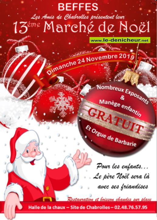 w24 - DIM 24 novembre - BEFFES - Marché de Noël * 002149