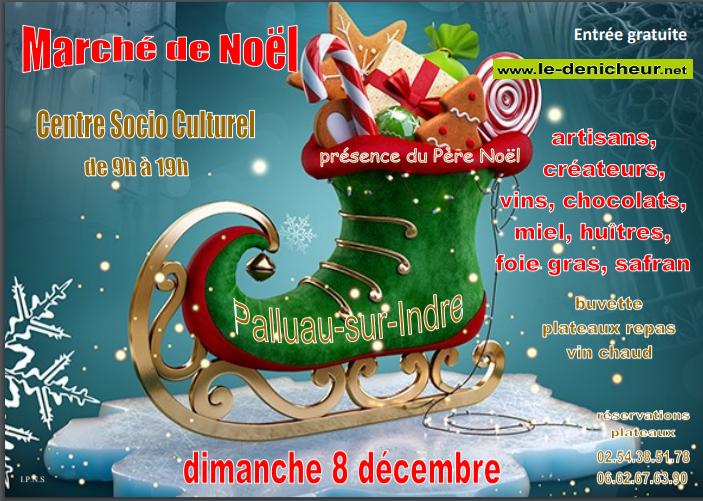 x08 - DIM 08 décembre - PALLUAU /Indre - Marché de Noël _* 002152