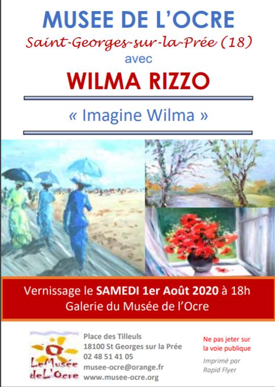 """i20 - Jusqu'au 20 septembre - ST-GEORGES /la Prée - Exposition """"Imagine Wilma"""" 002195"""