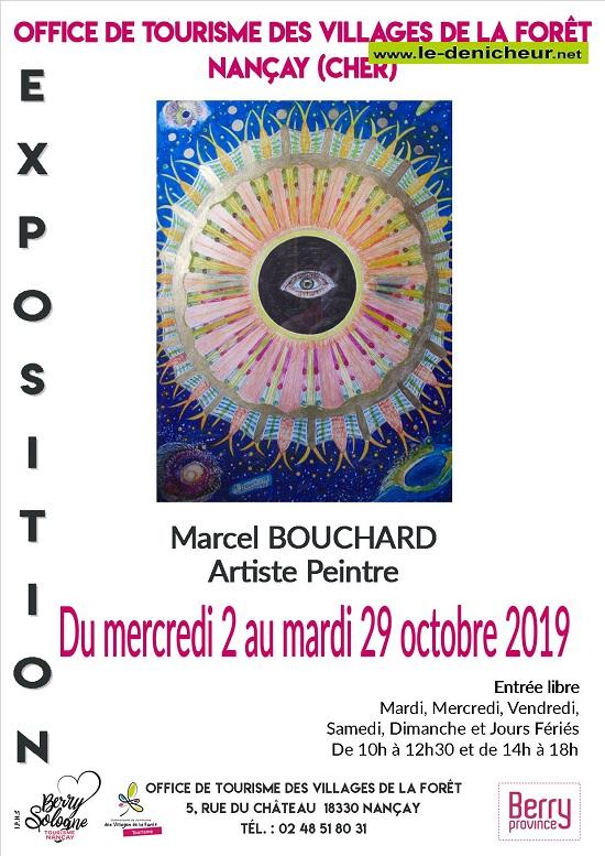 v29 - Jusqu'au 29 octobre - NANCAY - Exposition de peinture * 002209