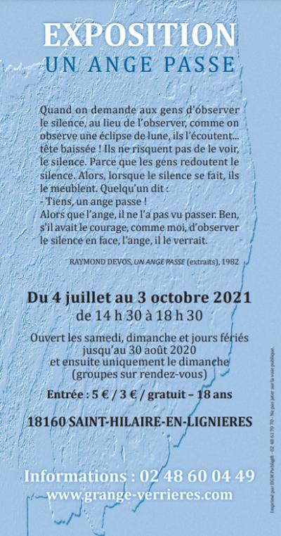 """v03 - Jusqu'au 3 octobre - ST-HILAIRE en Lignières - Exposition """"Un Ange Passe"""" 002236"""