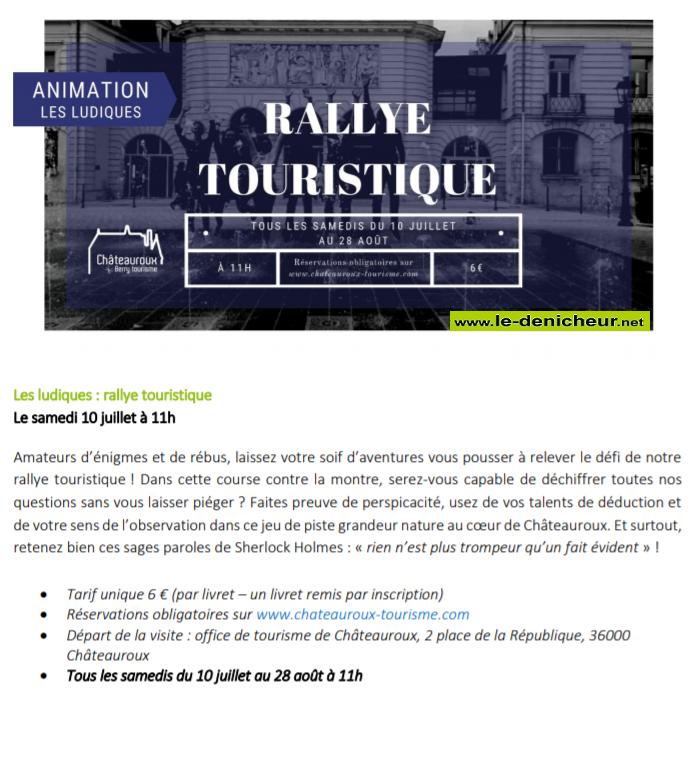 s31 - SAM 31 juillet - CHATEAUROUX - Rallye touristique 002240