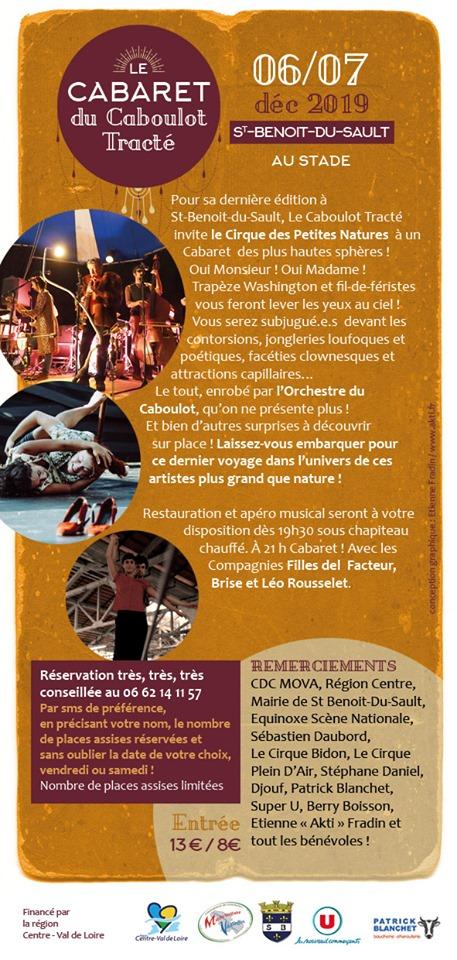 x07 - SAM 07 décembre - ST-BENOIT DU SAULT - Le Cabaret du Caboulot Tracté_* 002253