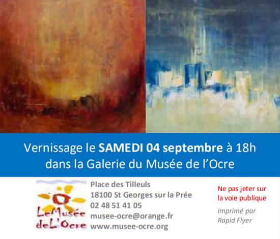 v10 - Jusqu'au 10 octobre - ST-GEORGES /la Prée - Expo: Paysages et abstraction _* 002256