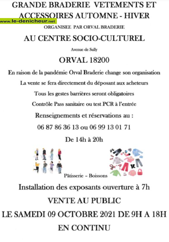 v09 - SAM 09 octobre - ORVAL - Braderie vêtements et accessoires _* 002265