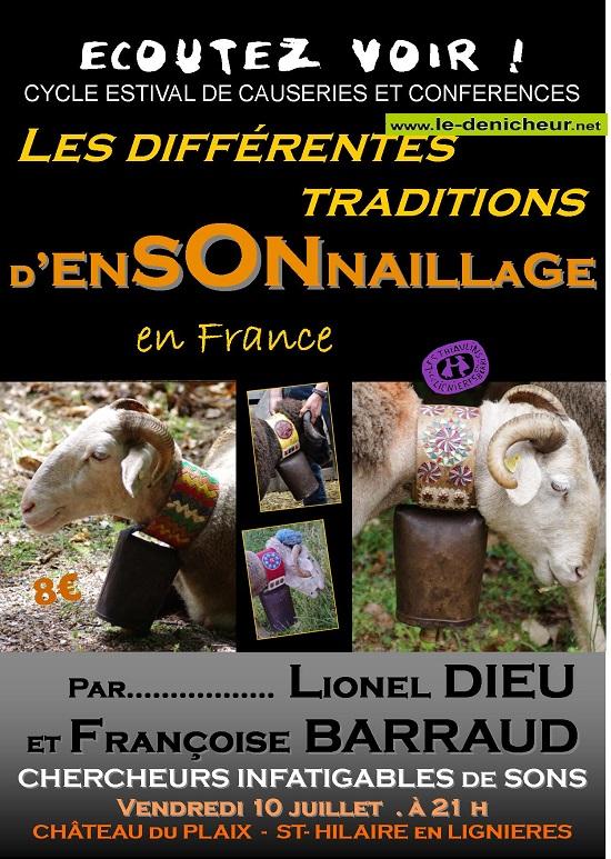 g10 - VEN 10 juillet - ST-HILAIRE en Lignières - Ecoutez voir ! .* 002291
