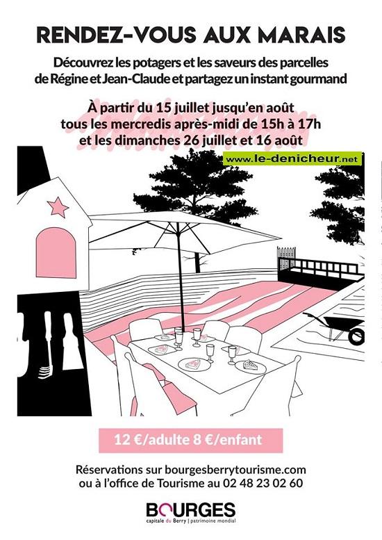 h05 - MER 05 août - BOURGES - Rendez-vous aux marais * 002296
