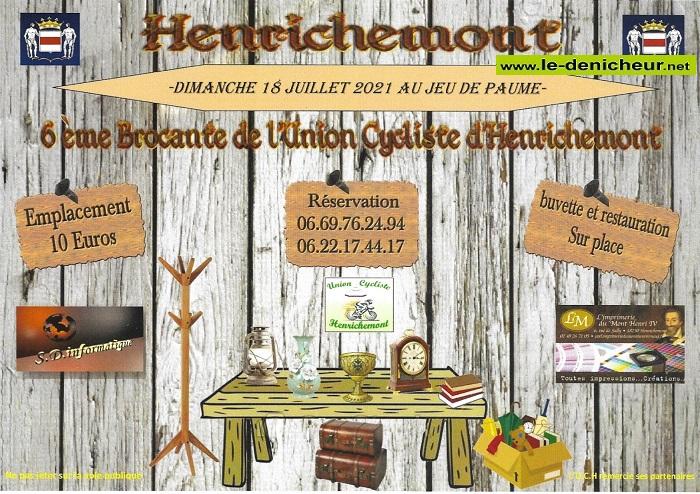 s18 - DIM 18 juillet - HENRICHEMONT - Brocante de l'UCH 002376