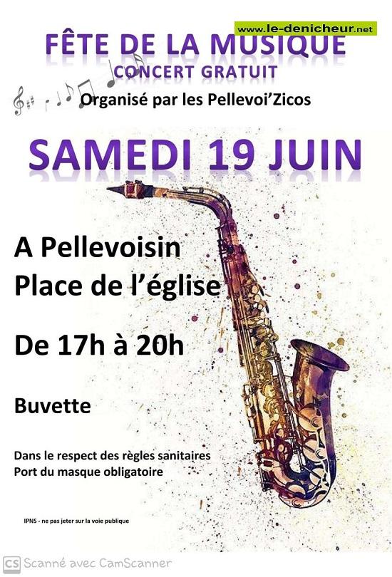 r21 - LUN 21 juin - PELLEVOISIN - Fête de la Musique * 002380