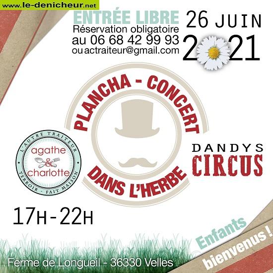 r26 - SAM 26 juin - VELLES - Dandy Circus en concert * 002384