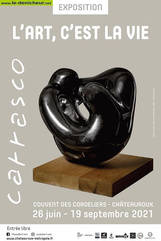 u19 - Jusqu'au 19 septembre - CHATEAUROUX - Carrasco - L'Art c'est la vie (exposition) 002414