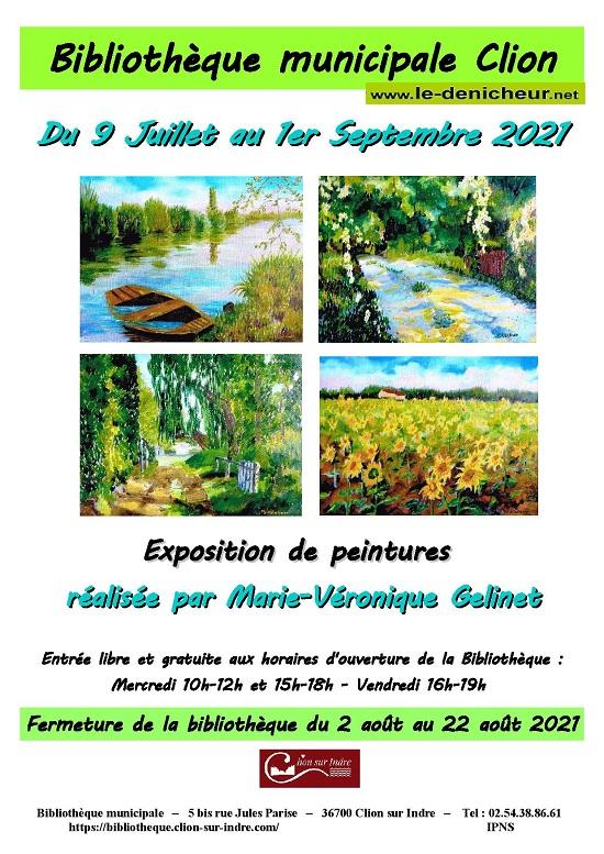 u01 - Jusqu'au 1er septembre - CLION /Indre - Exposition de peintures 002430