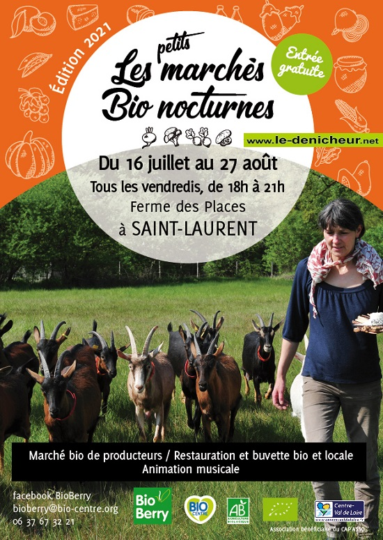 s30 - VEN 30 juillet - ST-LAURENT - Petit Marché Bio Nocturne * 002439
