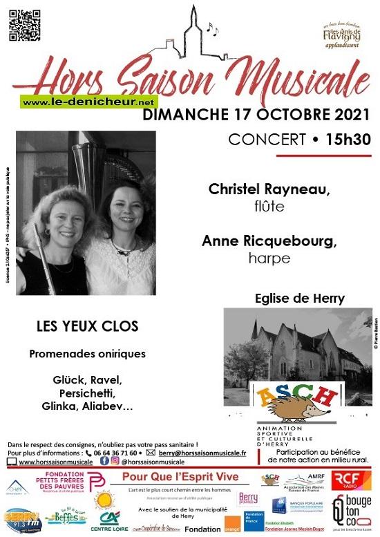 v17 - DIM 17 octobre - HERRY - Concert Hors Saison Misicale _* 002568