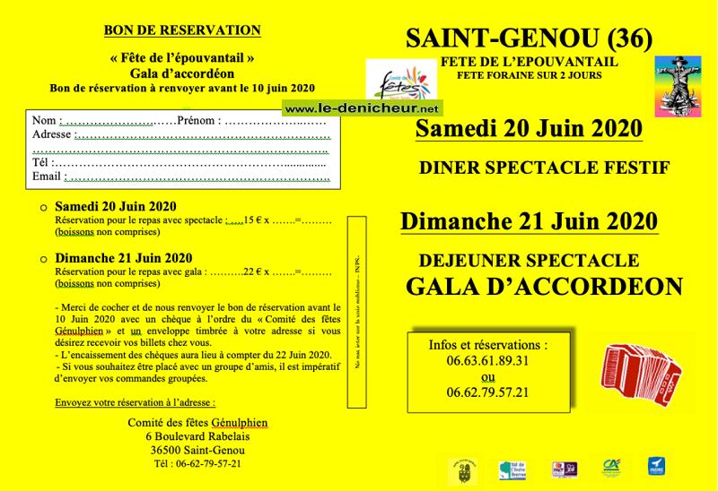 f20 - SAM 20 juin - ST-GENOU - Dîner spectacle annulé  */ 002_co12