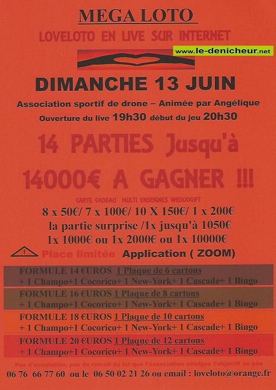 r13 - DIM 13 juin - LOTO LIVE sur internet 003111