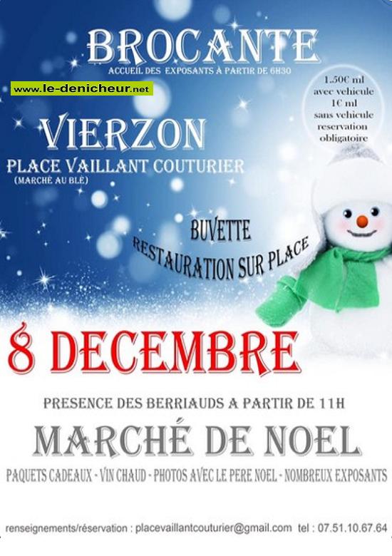 x08 - DIM 08 décembre - VIERZON - Brocante * 00343