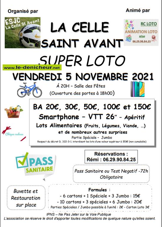 w05 - VEN 05 novembre - LA CELLE ST-AVANT - Loto de l'ESJC _* 003_10