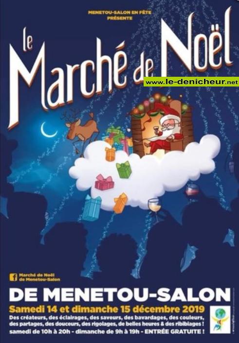 x14 - SAM 14 décembre - MENETOU-SALON - Marché de Noël * 00519