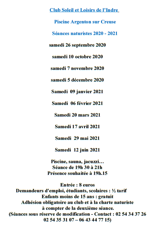q29 - SAM 29 mai - ARGENTON /Creuse - Séance naturiste à la piscine 00522