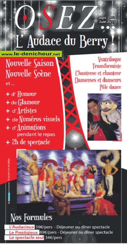 r16 - DIM 16 juin - DEOLS - Osez ! (Déjeuner spectacle) 00613