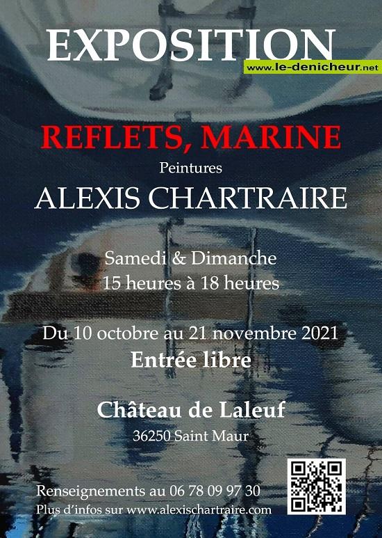 w21 - Jusqu'au 21 novembre - ST-MAUR - Exposition Reflets, marine (peintures) 00627