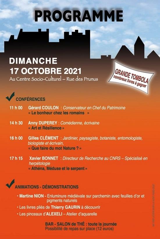 v17 - DIM 17 octobre - PALLUAU /Indre - Salon du livre * 00718
