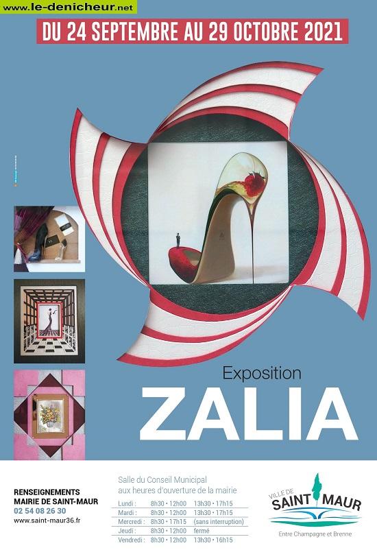 v29 - Jusqu'au 29 octobre - ST-MAUR - Exposition Zalia */ 00817
