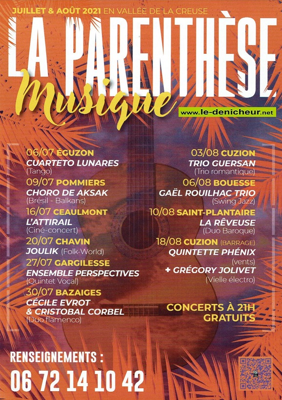 t03 - MAR 03 août - CUZION - La Parenthèsr Musique * 00912