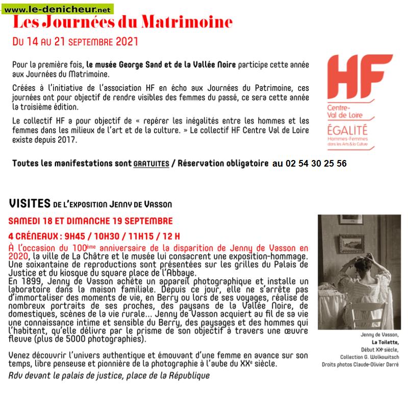 u18 - SAM 18 septembre - LA CHATRE - Visite de l'exposition Jenny de Vasson _* 009_10