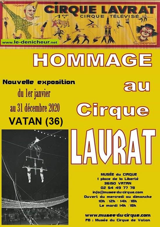 l31 - Jusqu'au 31 décembre - VATAN - Hommage au Cirque Lavrat (exposition) 01-01_12