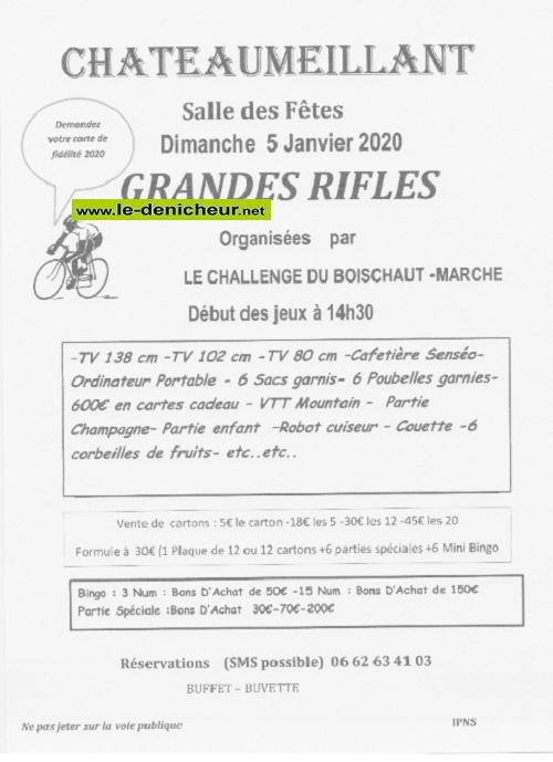 za05 - DIM 05 janvier - CHATEAUMEILLANT - Rifles du Challenge du Boischaut Marche 01-05_17