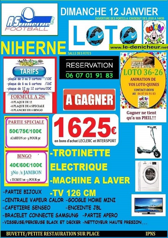 za12 - DIM 12 janvier - NIHERNE - Loto du foot */ 01-12_33