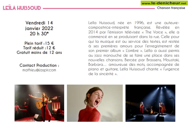 ya14 - VEN 14 janvier - LE POINCONNET - Leïla Huissoud en concert  01-14_10