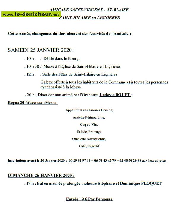 a25 - SAM 25 janvier - ST-HILAIRE en Lignières - St-Vincent - St-Blaise */ 01-25_12