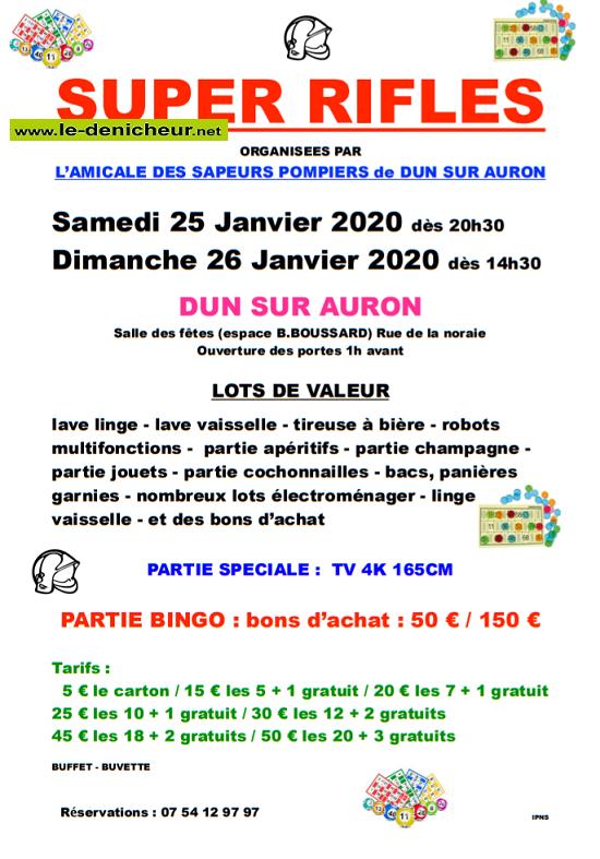 a26 - DIM 26 janvier - DUN /Auron - Rifles des Sapeurs Pompiers */ 01-25_14