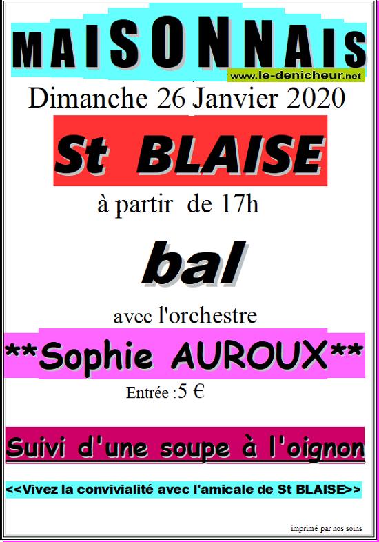 a26 - DIM 26 janvier - MAISONNAIS - Bal avec Sophie Auroux */ 01-26_19