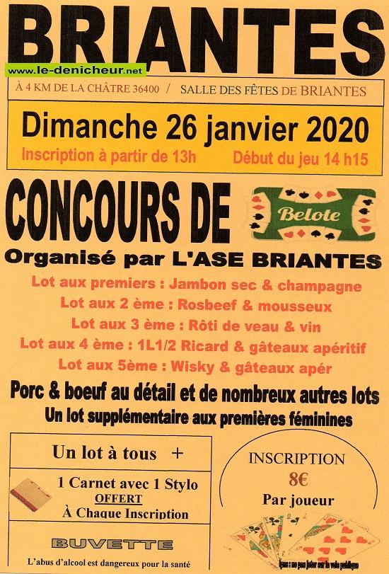 a26 - DIM 26 janvier - BRIANTES - Concours de belote .*/ 01-26_34