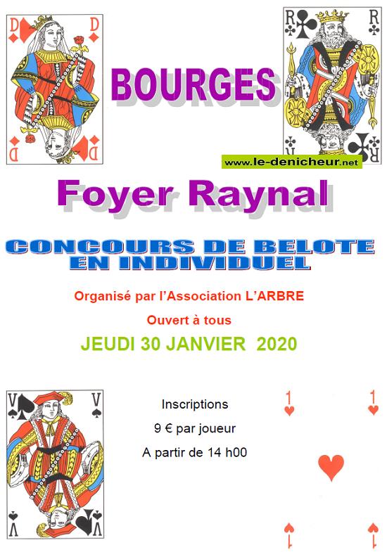a30 - JEU 30 janvier - BOURGES - Concours debelote */ 01-30_11
