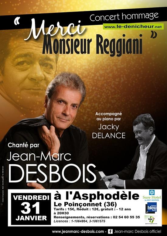 a31 - VEN 31 janvier - LE POINCONNET - Concert hommage à Serge Reggiani */ 01-31_12