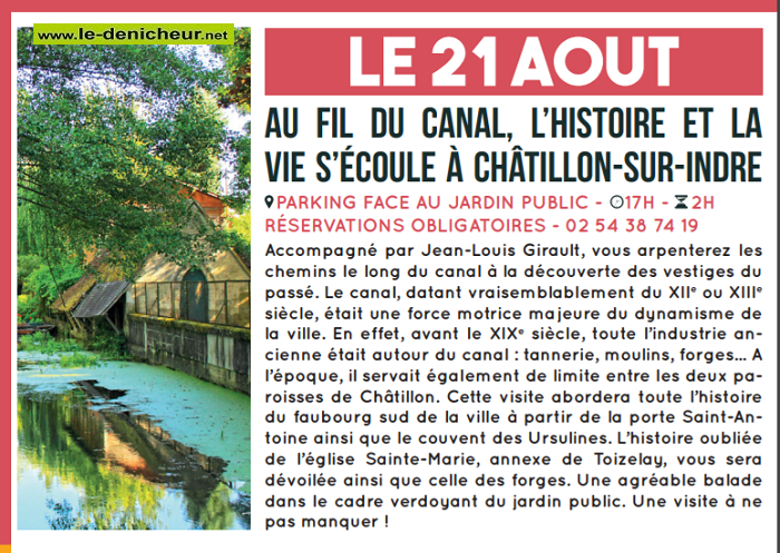 t21 - MER 21 août - CHATILLON /Indre - Les Mercredi de l'été  01012