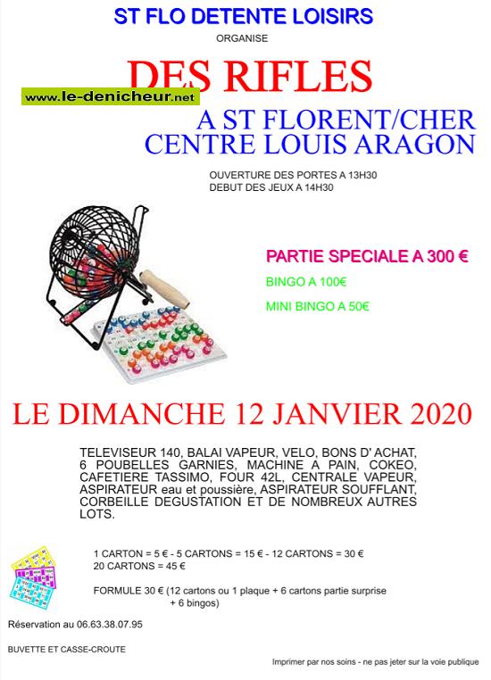 za12 - DIM 12 janvier - ST-FLORENT /Cher - Loto de Détente et Loisirs */ 012_ok10